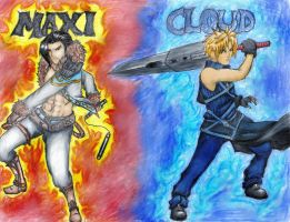 Contest: SC Maxi vs FF Cloud by MelzyV