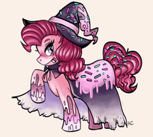 Pinkie Pie Halloween Dessert Outfit! by SuperRibbonGirl