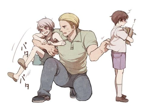 If we all children exceptGerman by shidouaoi