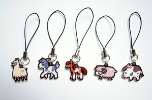 I Heart Farm Animal Charms by pookat