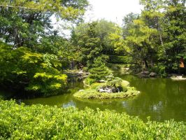 The Island in the Lake by Natures-Studio