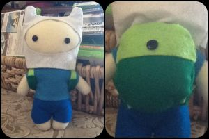 Finn Plushie by jasmineofderpsalot