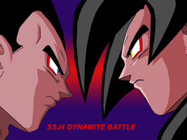 SSJ4  Dynamite Battle by Chase-TH