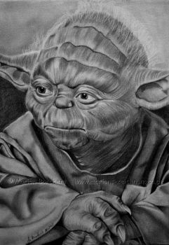 Yoda by WitchiArt