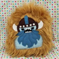 Bluebeard the Yeti Viking by loveandasandwich