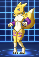 Mechsuit: Model Renamon v2 by DSAPROX