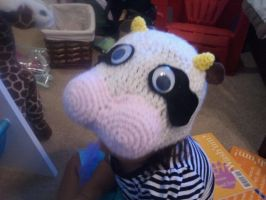 Moo cow hat by jelc85