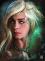 Daenerys Paint Jan 2014 by nma-art