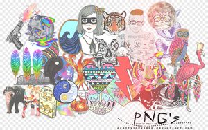 My Favorite Pngs by PrettyLadySwag