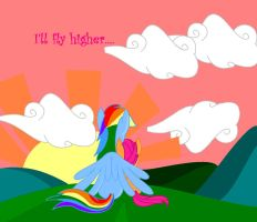 I'll fly higher... by annasabi101