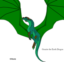 Granite the Earth Dragon by DemonicFury