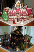 TNMBC Gingerbread House by Sliceofcake