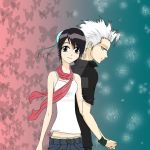Toshiro and Momo - Colored by complicatedd0928