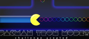 """Pacman """"Tron Mode"""" by madeinjungle"""