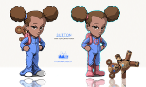 BUTTON | Animation Concept Art by MAiJiNTHEARTIST