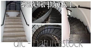 Stairs Pack 1 by dlc-nature-stock