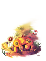 Pikmin by Stereot