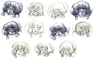 previs expression sheet by curry23