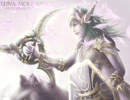 Luna Moonfang - The Moonrider by yiyang1989
