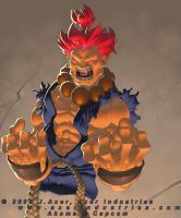 Akuma by JayAxer