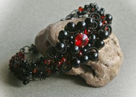 Bloody Midnight II - bracelet by Bodza