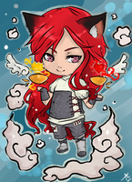 Chibi Vana+commission by Art-of-Kawaii
