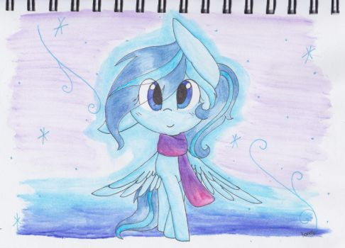 Happy B day to LilSnowShineey! by SnowflakeWonder