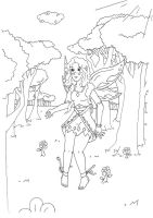 Coloring page for Lauren by Jety-Lefr