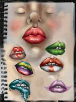 Lips by LaUra-MaRie-San