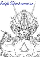 Assassin Gundam Avatar draft by Twilight-Hikari