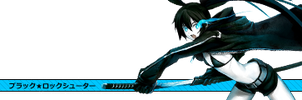 Black Rock Shooter Signature by Quarion-Design