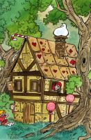 Art Trade: The house of Sweets by DianaKennedy