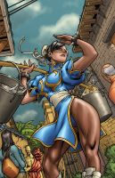 Chun Li By Edwinhuang-color by lee-kalba