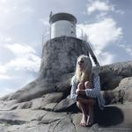 daughter of the lighthouse keeper by SilverScreened