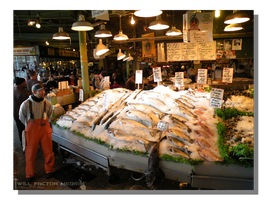 Pike Place Fishery by WillFactorMedia