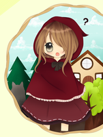 little red riding hood by FujisakiAkane