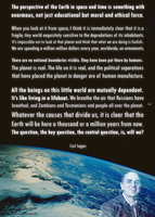 Carl Sagan on the cosmic perspective.. by rationalhub