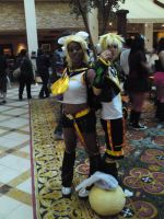 Rin and Len vocaloid OC2010 by L-Angelo15