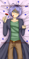 Ib- Garry Seme Dakimakura Side by Foxy-Sierra