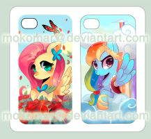 My Little Pony Friendship Is Magic iPhone 4 cover by mokomar