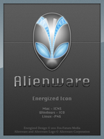 Alienware Energized - Icon by Fox-Future-Media
