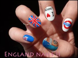 England Nails2 by JawsOfKita-LoveHim