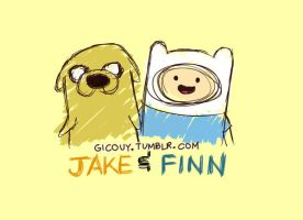 Jake And Finn by gicouy