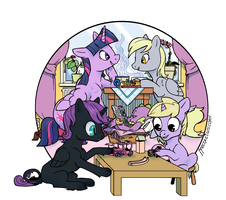 Playdate by spectralunicorn