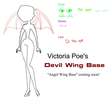 Winged TDI Base: Devil by VictoriaPoe