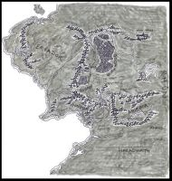 Map of Middle Earth - Large by jlel