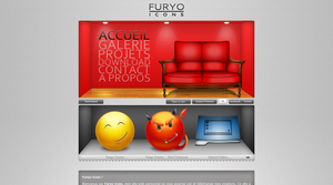 Webdesign - Furyo-icons v2 by Furyo-kun