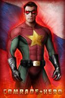 Comrade Hero R by Jeff Chapman by jhansard