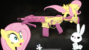 Fluttershy Peacekeeper by ponypower5000
