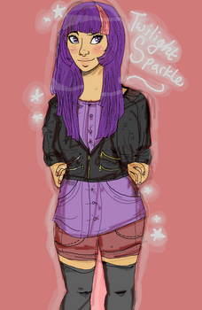 human twilight doodle by superlucky13
